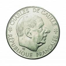 Un Franc DeGaulle Nickel