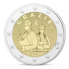 Italie 2021 - 2 euro commémorative Grazie