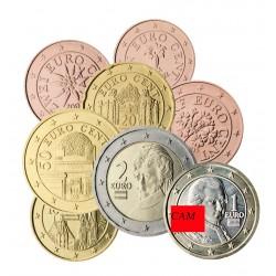 Autriche 2021 - série complète euro neuve
