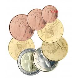 Chypre 2021 - série complète euro neuve