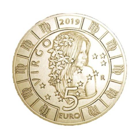 5 euros Saint Marin 2019 - Vierge