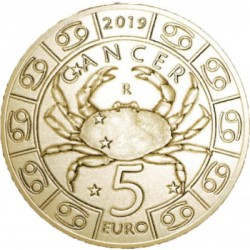 5 euros Saint Marin 2019 - Cancer