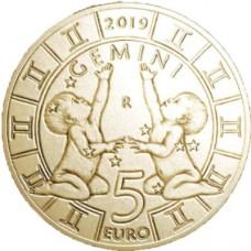 5 euros Saint Marin 2019 - Gémeaux
