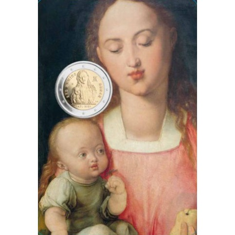 Saint Marin 2021 - 2 euro commémorative Albrecht Dürer