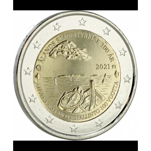 Finlande 2021 - 2 euro commémorative Aland