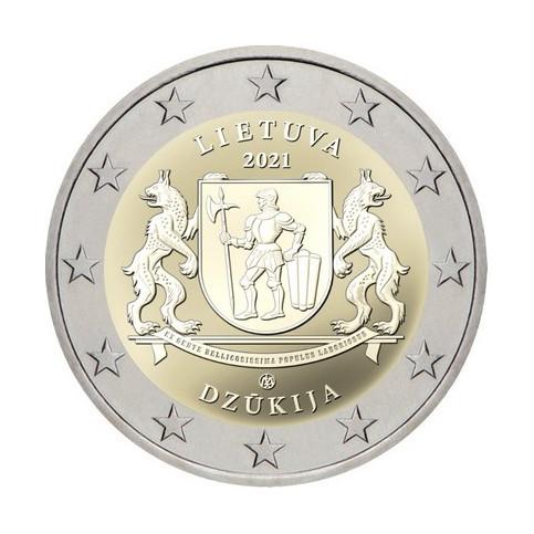 Lituanie 2021 - 2 euro commémorative Dzukija