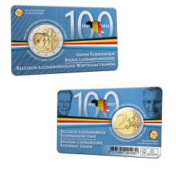 Belgique 2021 Coincard - 2 euro commémorative UEBL