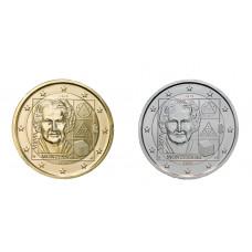 2 euros Italie 2020  Montessori dorée+argentée