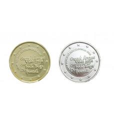 2 euros Slovénie 2020 Adam dorée+argentée