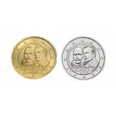 2 euros Luxembourg 2020 Henri dorée+argentée