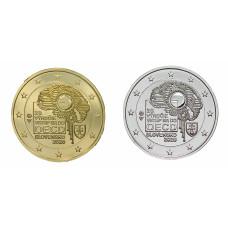 2 euros Slovaquie 2020 OECD dorée+argentée