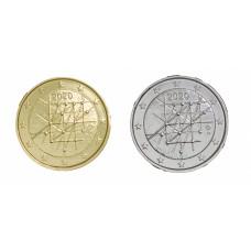 2 euros Finlande 2020 Turku dorée+argentée