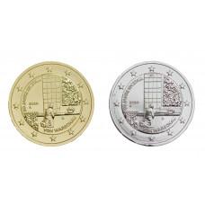 2 euros Allemagne 2020 Génufléxion dorée+argentée
