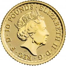 Britannia en or de 1/10 once - 2021