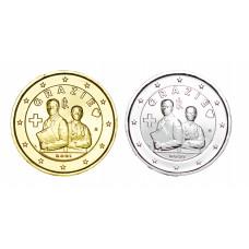 2 euros Italie 2021 Merci dorée+argentée
