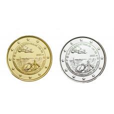 2 euros Finlande 2021 Aland dorée+argentée