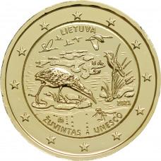 Lituanie 2021 UNESCO dorée à l'or fin 24 carats - 2€ commémorative