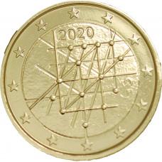 Finlande 2020 Turku - 2 euro dorée à l'or fin 24 carats