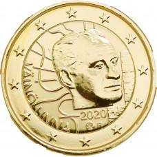 Finlande 2020 Vaino - 2 euro dorée à l'or fin 24 carats