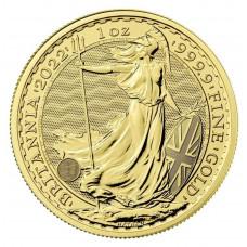 Britannia en or de 1 once - 2022