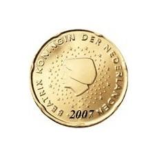Pays Bas 20 Cents  Bas 2007