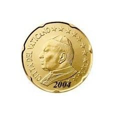 Vatican 20 Cents  2004