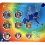Espagne 2003 - Coffret euro BU