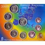 Espagne 2005 - Coffret euro BU