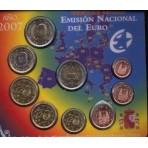 Espagne 2007 - Coffret euro BU