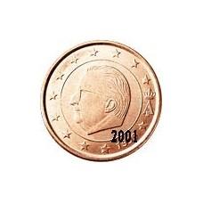 Belgique 5 Cents  2001