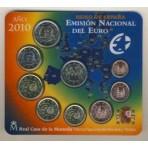 Espagne 2010 - Coffret euro BU