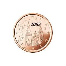 Espagne 5 Cents  2003
