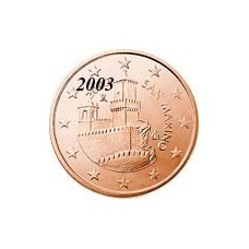 Saint Marin 5 Cents  Marin 2003