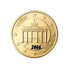 Allemagne 50 Cents  2006 Atelier D