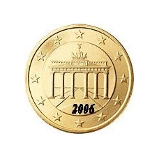Allemagne 50 Cents  2006 Atelier F