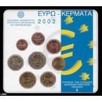 Grèce 2002 - Coffret euro BU