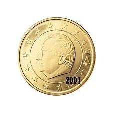 Belgique 50 Cents  2001