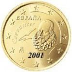 Espagne 50 Cents  2001