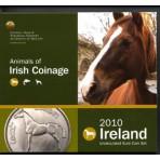 Irlande 2010 - Coffret euro BU