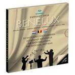 Benelux 2010 - Coffret euro BU Les hymnes nationales