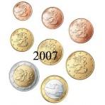 Finlande 2007 : Série complète euro neuve