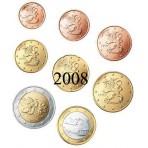 Finlande 2008 : Série complète euro neuve