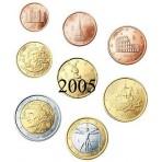 Italie 2005 : Série complète euro neuve