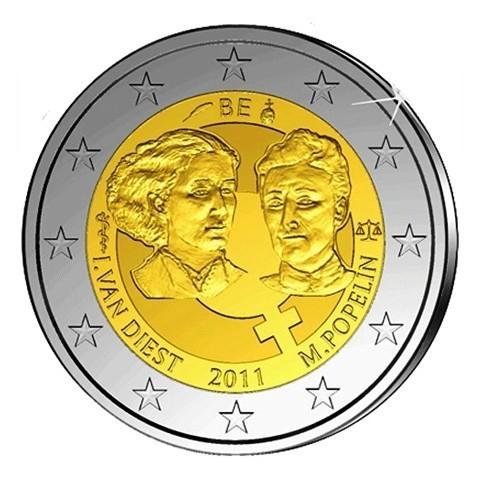 BELGIQUE 2011 - 2 EUROS COMMEMORATIVE