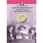 Belgique 2011 - 2 euro commémorative en coincard