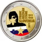 Slovénie 2011 - 2 euro commémorative en couleur