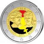 Belgique 2011 - 2 euro commémorative en couleur