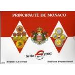 Monaco 2001 - Coffret euro BU Prince Rainier