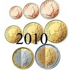 Luxembourg 2010 : série de 1 cent à 2 euros