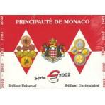 Monaco 2002 - Coffret euro BU Prince Rainier